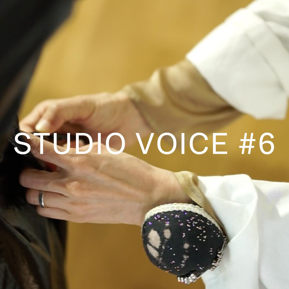 STUDIO VOICE | Chief pattern maker /INTERVIEW